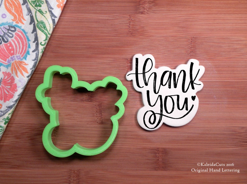 Thank You Cookie Cutter image 0