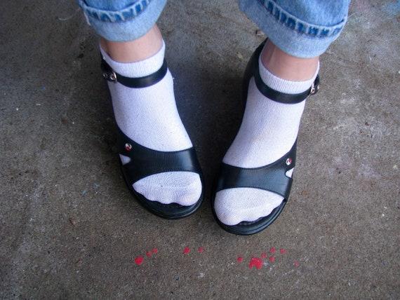 TOMMY HILFIGER Strappy Sandals 90s Y2K Vintage Tom