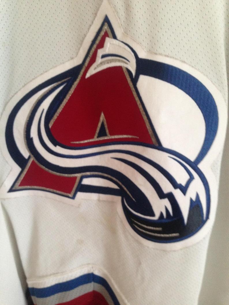90s Colorado Avalanche CCM Hockey Jersey  566b54f99