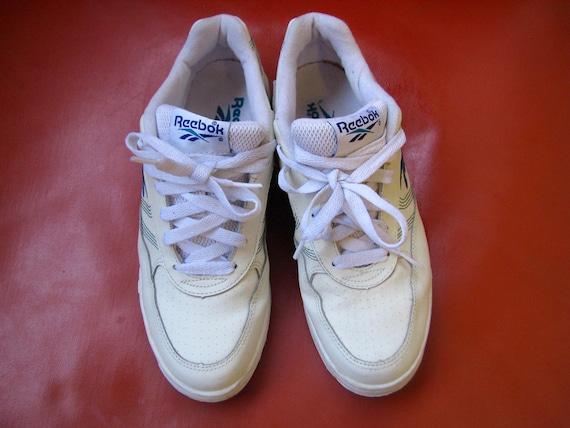 Reebok Classic White Stripe Shoes