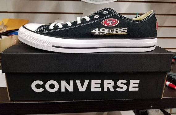 San Francisco 49ers Converse Chucks