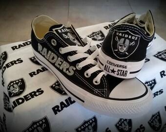 Oakland Raiders Converse Chucks
