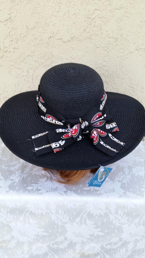 NFL SAN FRANCISCO 49ERS Womens Big Brim Floppy Sun Hat  60e77becb