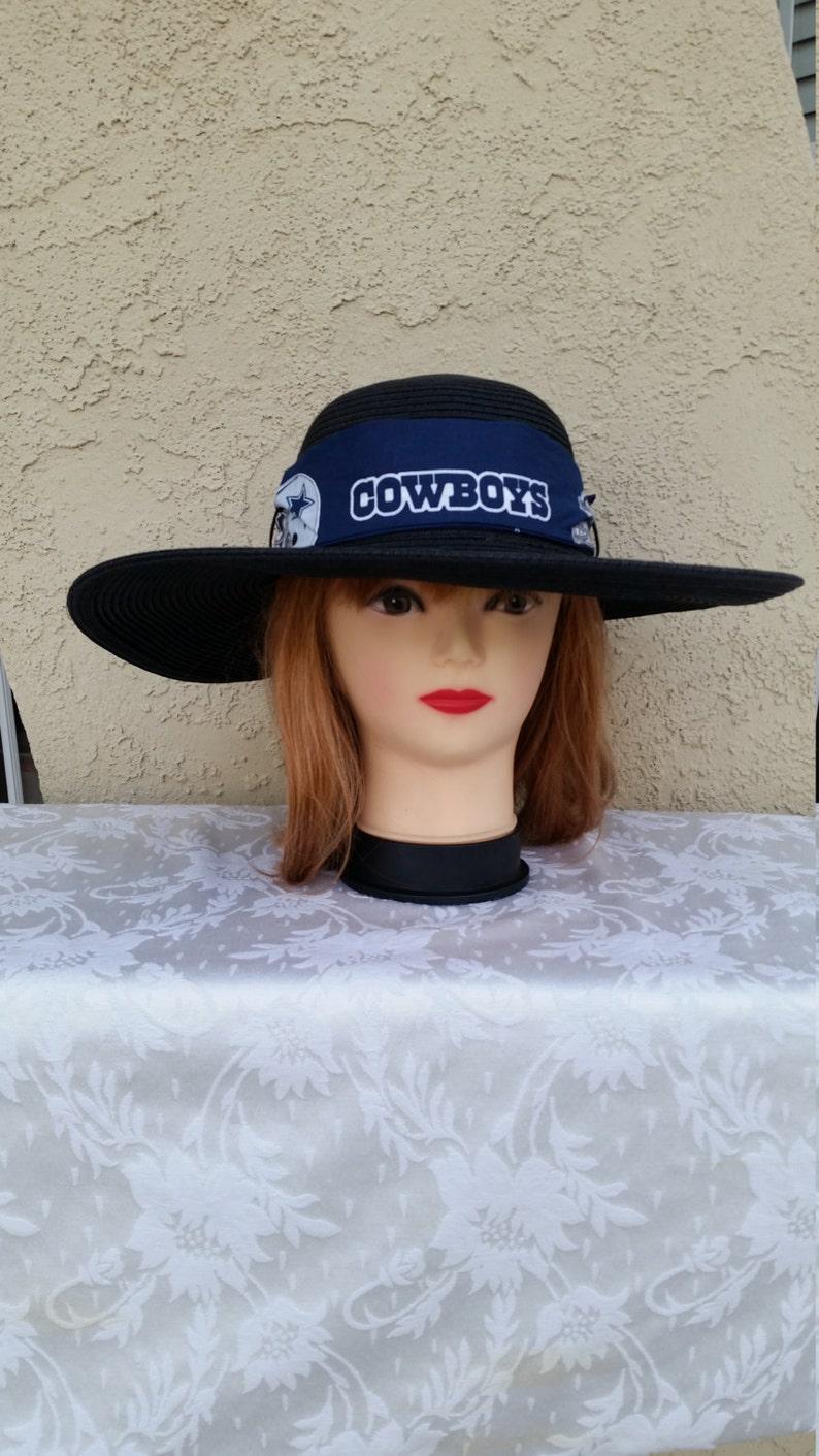 DALLAS COWBOYS Womens Big Brim Floppy Sun Hat  d77c63101