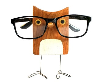a0b8f57800b Owl Eyeglass Stand - Glasses Holder An Adorable Gift For Owl Lovers
