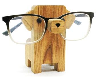 Dachshund Wearing Eyeglasses Stand / Glasses Holder