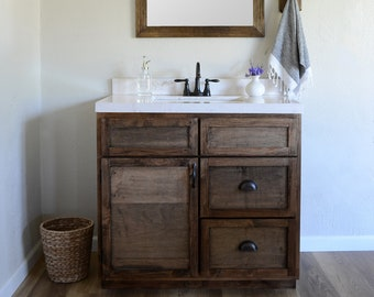 Astonishing Farmhouse Bathroom Vanity Etsy Home Interior And Landscaping Analalmasignezvosmurscom