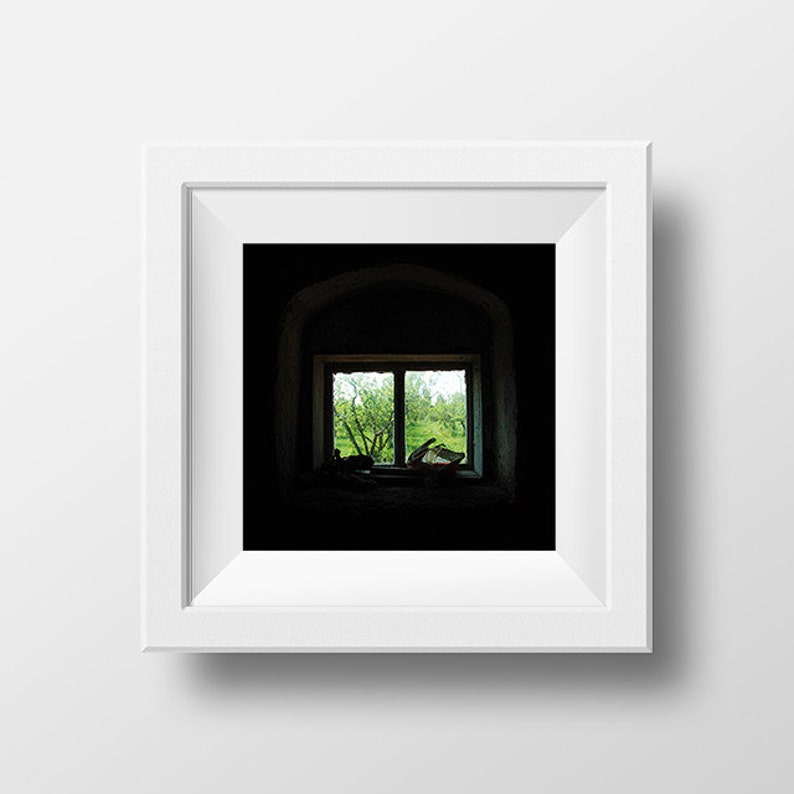 graphic regarding Window Printable titled Rustic Window, Deserted Room, Printable Wall Artwork, Architecture Artwork, Window Decor, Electronic Down load