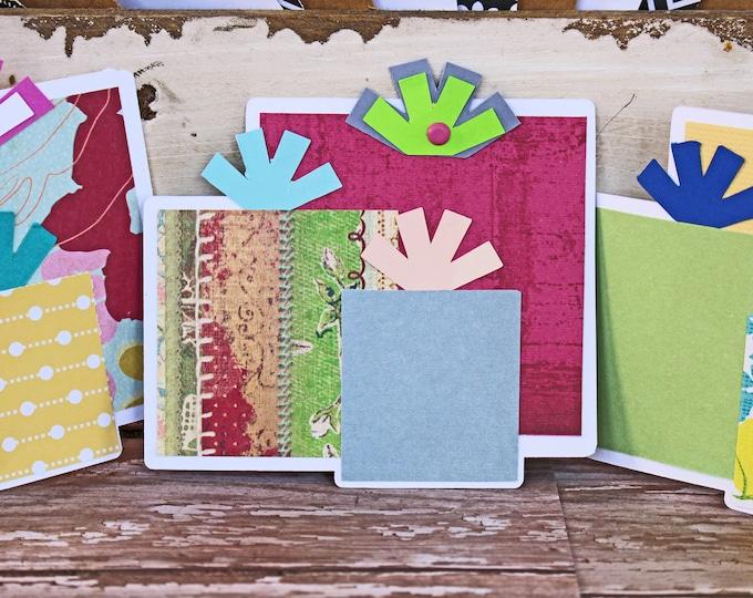 Birthday Present Die Cut, Layered Die Cut, Scrapbook Embellishment, Birthday Scrapbook, Birthday Die Cut, Birthday Gift Die Cut, Handmade