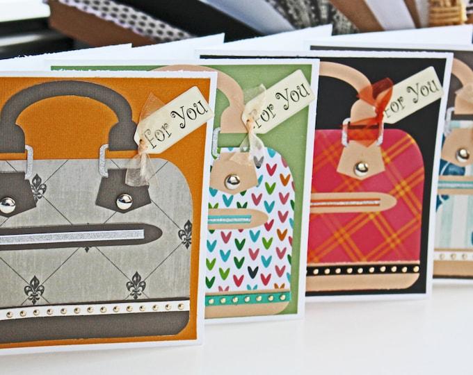 Custom Designer Handbag Greeting Cards, Mother's Day Cards, Birthday Cards, Handbag Cards, Designer Cards, Custom Cards, Purse Card, Fashion