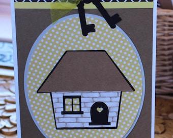 Housewarming Card - Home, New Home, Handmade, Card, Happy, Sweet Home, Welcome Home, Congratulations, Congrats, Housewarming, First Home