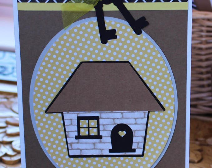Housewarming Card - Home, New Home, Handmade, Card, Happy, Sweet Home, Welcome Home, Congratulations, Congrats, Housewarming, First Home