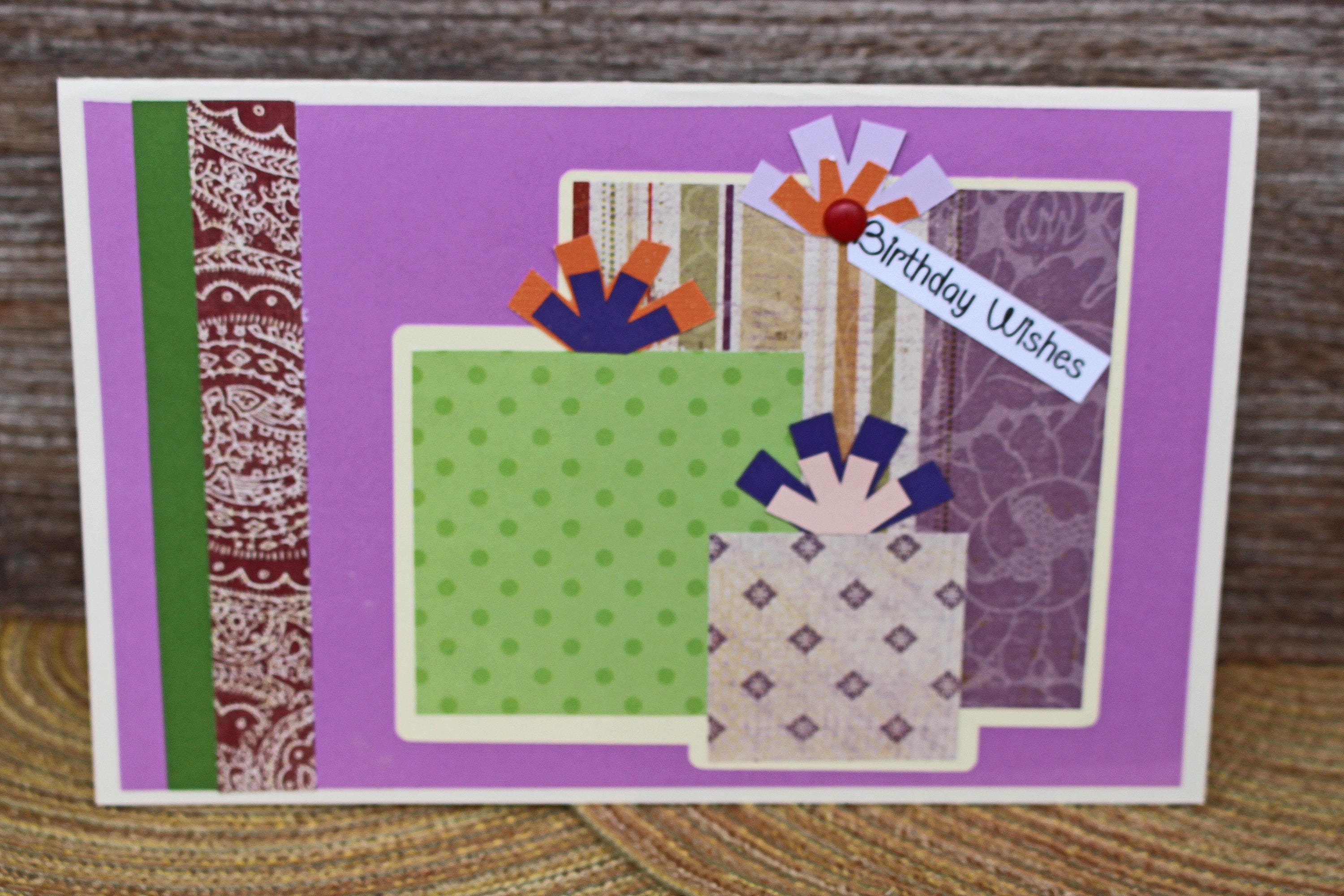 Birthday Present Card Custom Personalized Gift Ladies Greeting Handmade For Her