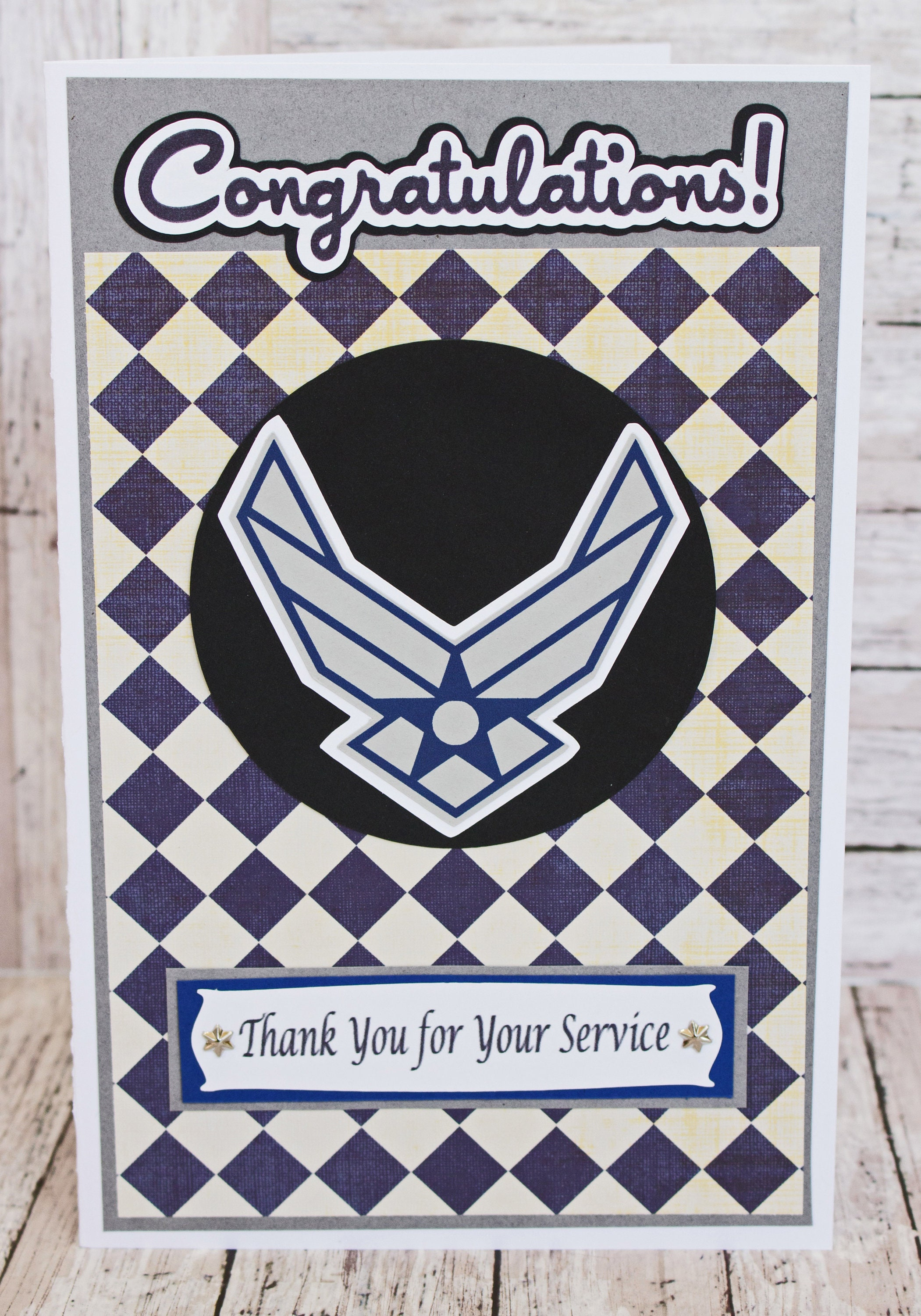 US Air Force Card, Air Force Retirement, Air Force Promotion