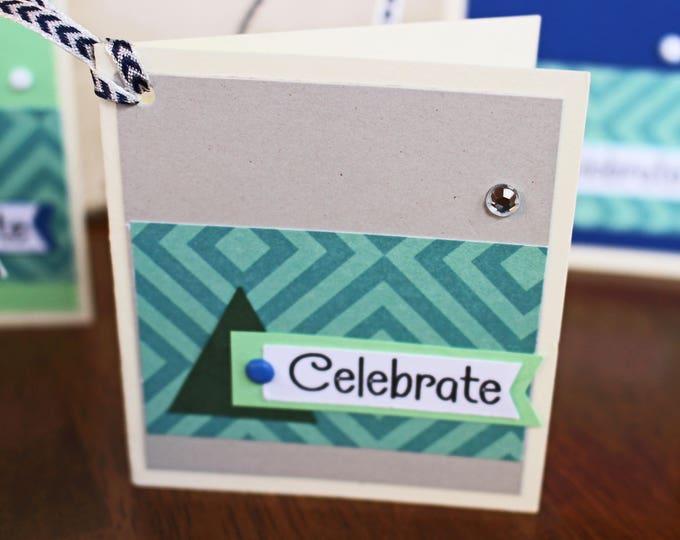 Set of 4, All Purpose Gift Tags, Handmade Gift Tags, Present Hang Tags, Gift Tags, Gifts, Tags, Aztec Print, Tags, Birthday Gift, Hang Tags