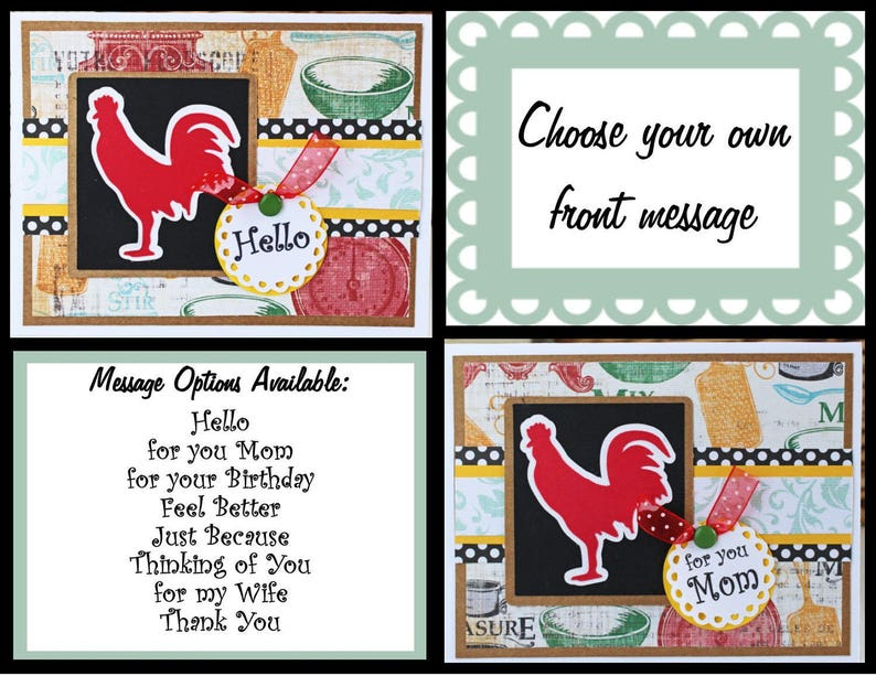 Custom Handmade Red Hen Card Handmade Greeting Card Red Hen | Etsy on thank you clean kitchen, thank you cards kitchen, thank you for email background, new wallpaper for kitchen, thank you background wallpaper,