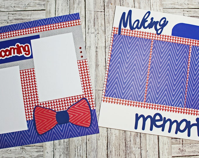 Any Color, Homecoming Dance, Homecoming Game, Scrapbook Pages, Scrapbook Page Set, High School, Homecoming Scrapbook Page, High School Dance