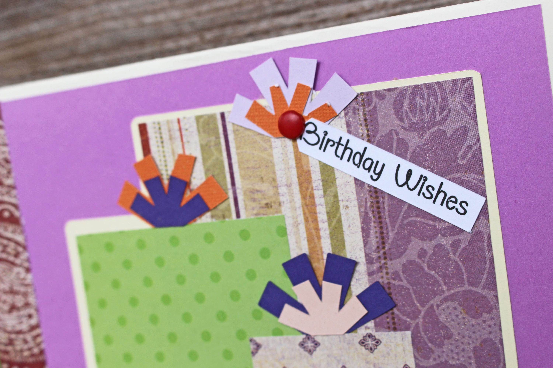 Birthday Present Card Birthday Card Custom Card Personalized Card