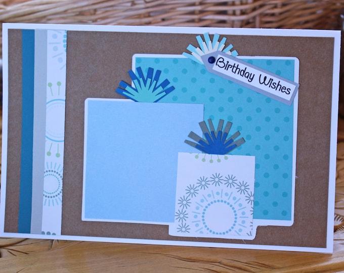 Boys Birthday Card, Birthday Presents Card, Colorful Kids Birthday Card