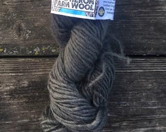 Certified organic wool yarn - Purple Logwood