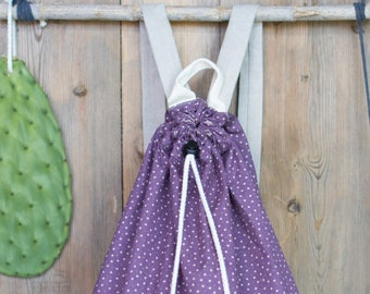 backpack for the nursery Lilac