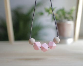 Lactation Necklaces-Rosa Gummy-BPA Free