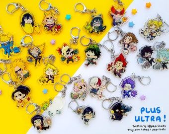 NEW CHARAS ADDED! BnHA x Pkmn Charms
