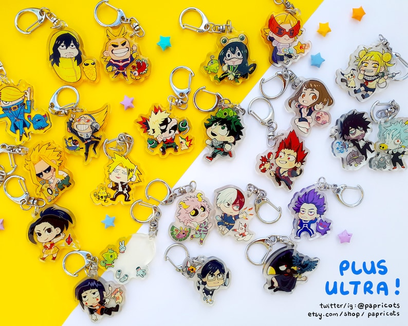 NEW CHARAS ADDED BnHA x Pkmn Charms image 0
