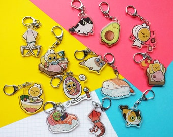 DEAL: Any 3 charms/keychains