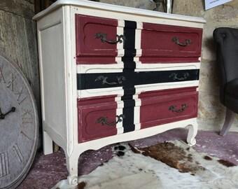 Scandinavian Dresser aged patina