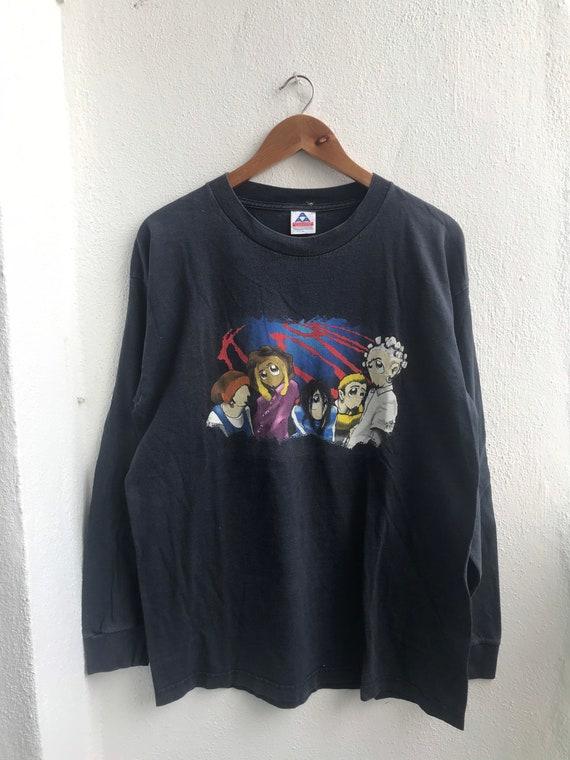 Grab It !! Vintage Korn American Nu metal Long Sle
