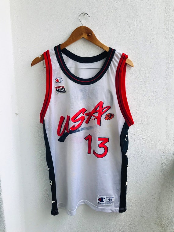 Grab It !! Vintage NBA USA Team : Shaquille O' Nea