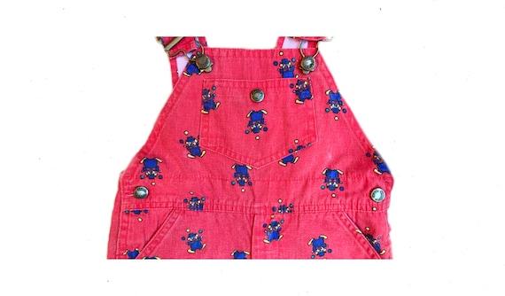 Baby Overalls: red denim overalls, denim overalls… - image 2
