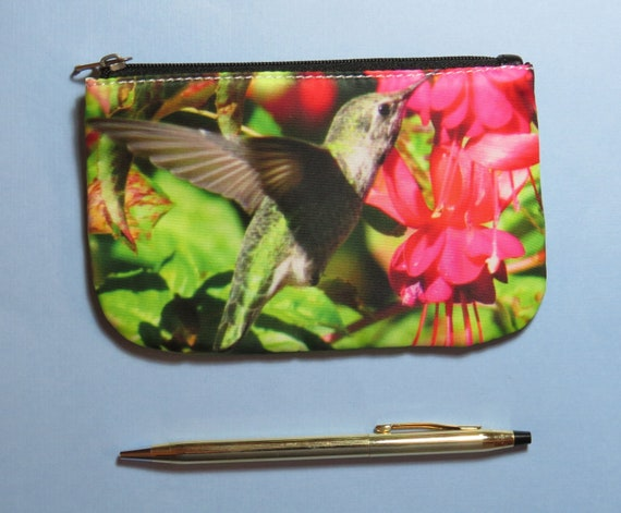 birdwatcher gift birder gift Prothonotary Warbler Coin Purse bird lover gift