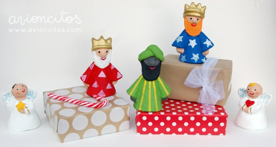 5-piece Kings and Angels set