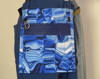 FSU Cotton Fabric Flat Pack with Three Pockets for Nurses w Belt