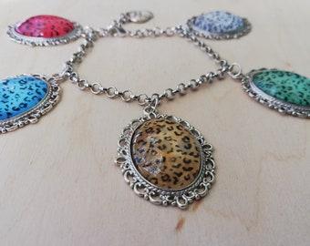Leoparden Armband Armkette