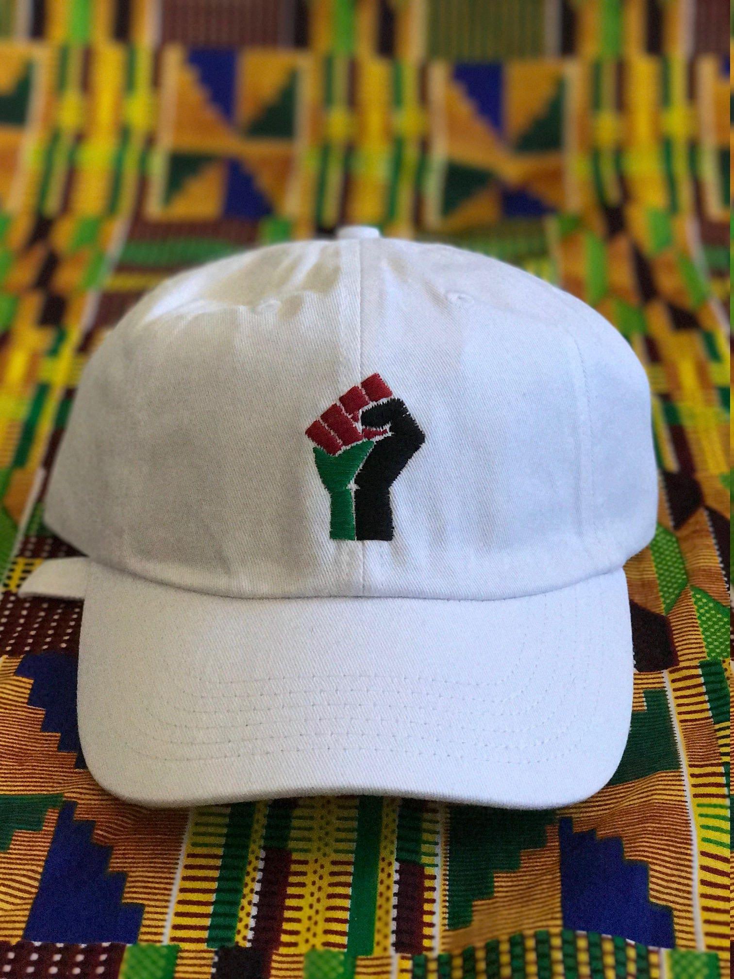 3fd532f98f3 Black Power Polo Dad Hat