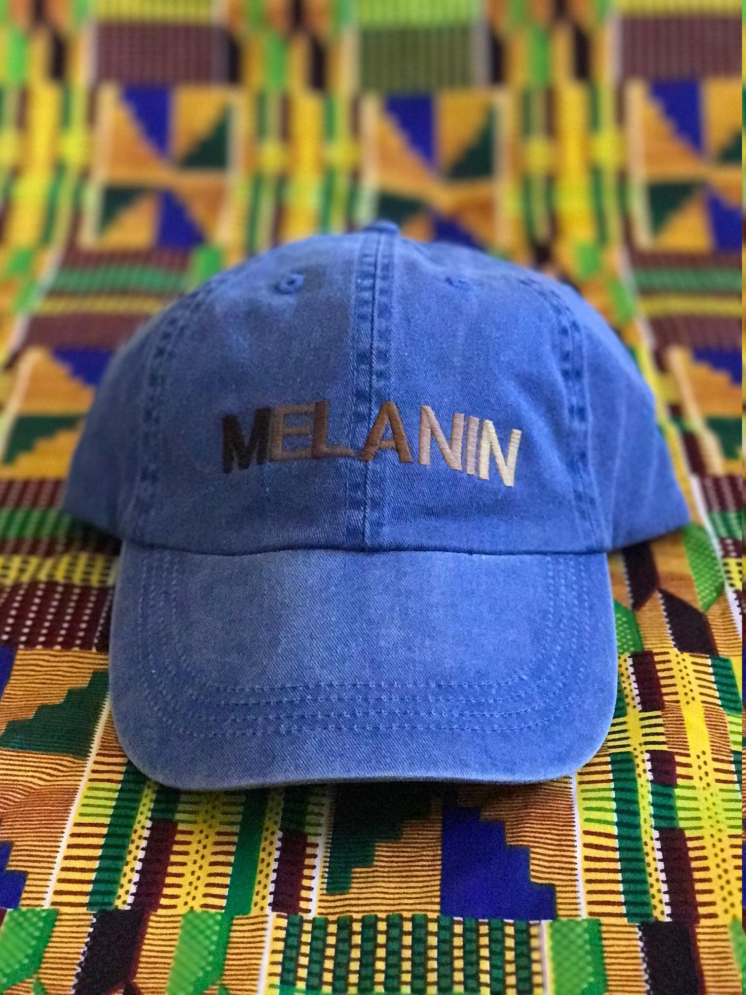 MELANIN Polo Dad Hat 49d0891a83bb