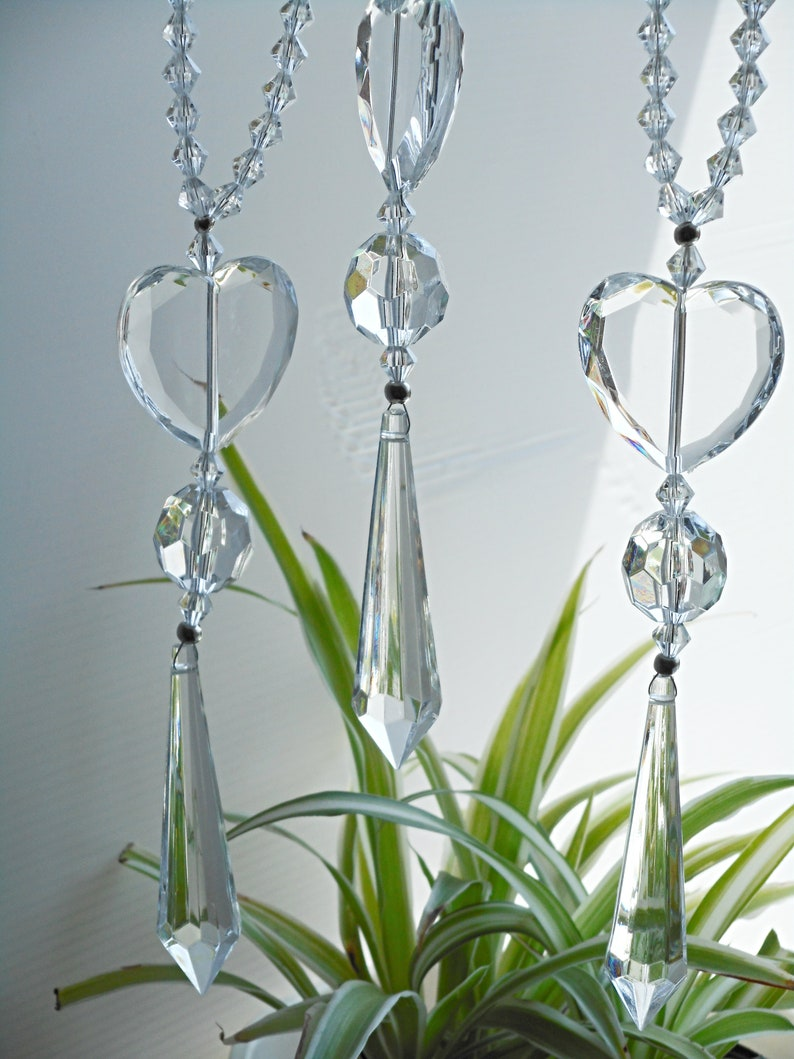 Hanging Chain Suncatcher Pendant Garden Wedding Door Decor Gifts T
