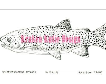 Rainbow Trout (Print)