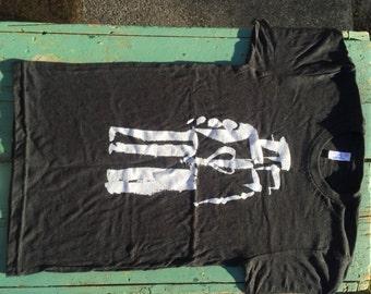 Robot Love - Dark Gray t-shirt (small only)