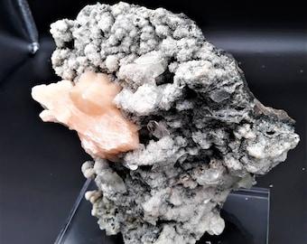 ZEOLITES LARGE Grade A Crystal Specimens from India Stillbite, calcite, Apophyllite, MM Quartz, and Chalcedony,  metaphysical healing rare