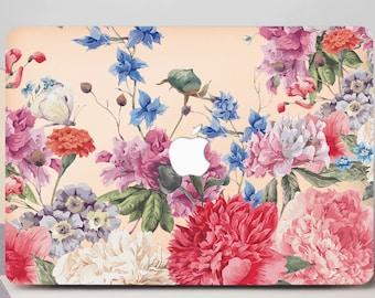 Macbook Air Hard Case Macbook Air 13 Hard Case Floral Macbook Hard Case Macbook Pro 13 Case White Mandala Macbook Pro Hard Case CG2072