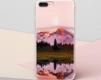 Mountains Case iPhone 7 Case iPhone 7 Plus Case iPhone X Case iPhone 6 Case iPhone 6s Case Nature Phone Case Samsung Galaxy S7 Case CG1504