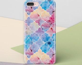 iPhone 7 housse iPhone 8 Case Plus iPhone 7 géométrique coque iPhone 6 s Case iPhone 6 Case Plus iPhone 7 Plus iPhone 6 cas de protection CG1328
