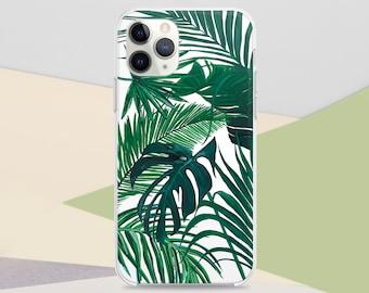 iPhone XS Case iPhone 7 Plus Case Tropical iPhone 8 Plus Case Clear Summer Phone Cases Clear Tropical Print iPhone 6s S7 Case Palm CG1617