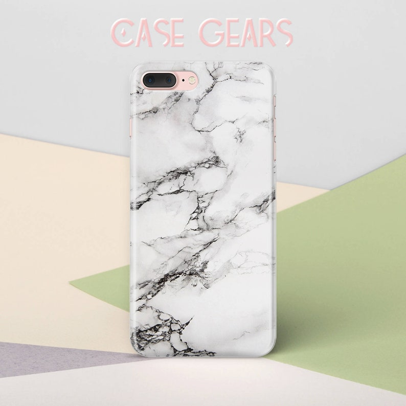 online retailer 7172b 75a02 iPhone 8 Plus Case White Marble Phone Case iPhone 7 Plus Case iPhone 6 Case  for Samsung S5 Case iPhone X Case Samsung Galaxy S9 Case CG1228