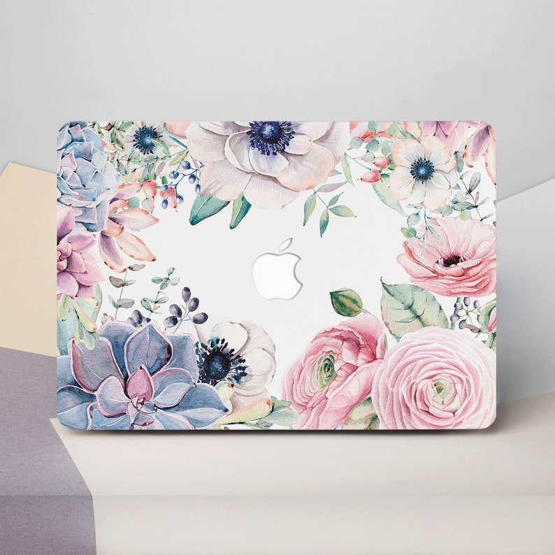 low priced 19c4a 2f731 Flower Macbook 12 Case Floral Laptop Case Macbook Pro 15 Case Macbook Air  11 Case Macbook Pro Retina 13 Case Macbook Air 13 Case CG2082