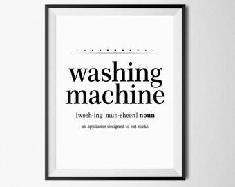 funny bathroom decor washing machine definition dictionary art definition art print funny bathroom art funny definition definition art - Funny Bathroom Art